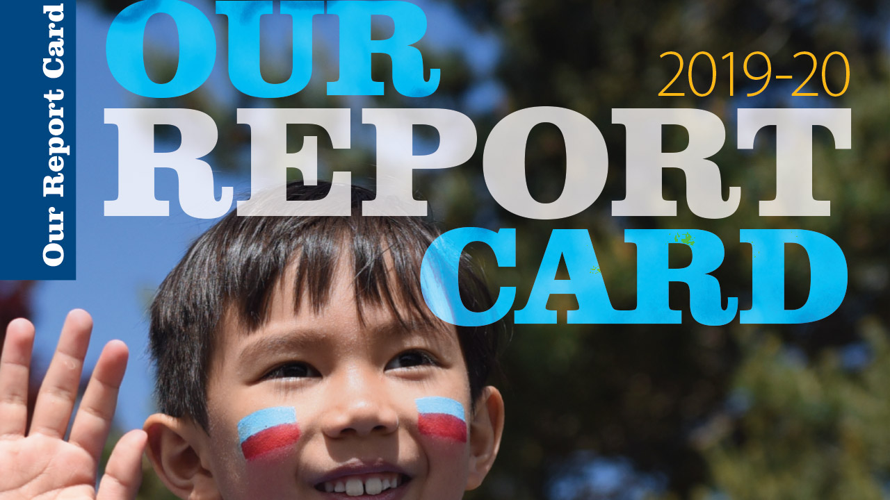 Our Report Card cover